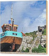 High And Dry Wood Print by Graham Taylor