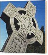 High Cross, Monasterboice, Co Louth Wood Print