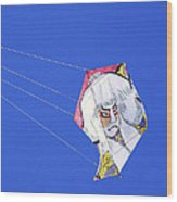 High Flying Character  Wood Print