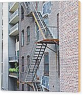 High Line Print 26 Wood Print