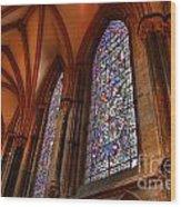 Higher Faith Wood Print