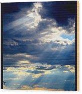 Higher Light Wood Print