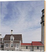 Highland Light Wood Print