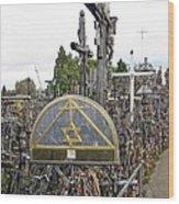 Hill Of Crosses 04. Lithuania Wood Print