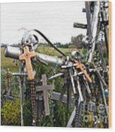 Hill Of Crosses 08. Lithuania Wood Print