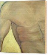 Him Wood Print by Sheila Tajima