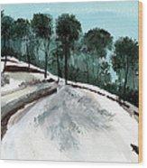 Himalaya 2 Wood Print by Anil Nene