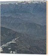 Himalaya Mountains Of Nepal Wood Print