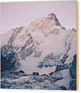 Himalayas In Nepal Wood Print