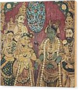 Hindu Wedding Ceremony Wood Print