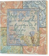 Hint Of Spring Butterfly 1 Wood Print