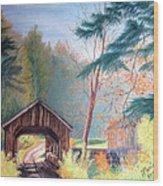 Hints Of Fall Wood Print