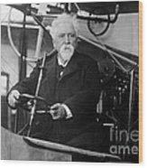 Hiram Maxim, American-anglo Inventor Wood Print