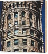 Historic Building In San Francisco - Colour Wood Print