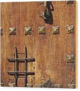 Historic Door Wood Print