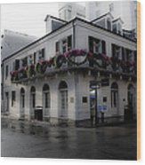 Historic French Quarter No 1 Wood Print