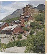Historic Kennicott Mill Buildings Wood Print