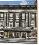Historic Met Theater In Morgantown Wv Wood Print