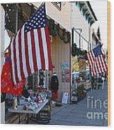 Historic Niles District In California Near Fremont . Main Street . Niles Boulevard . 7d10692 Wood Print