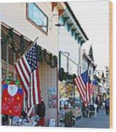 Historic Niles District In California Near Fremont . Main Street . Niles Boulevard . 7d10693 Wood Print
