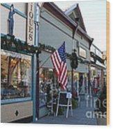 Historic Niles District In California Near Fremont . Main Street . Niles Boulevard . 7d10701 Wood Print