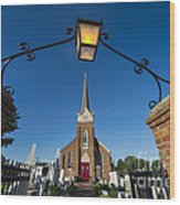 Historic St Peter's Episcopal Church Wood Print