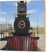 Historic Steam Locomotive Wood Print
