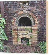 Historical Antique Brick Kiln In Morgan County Alabama Usa Wood Print