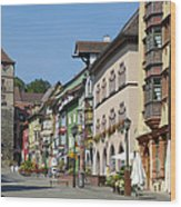 Historical Old Town Rottweil Germany Wood Print by Matthias Hauser