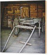 Hitch Your Wagon Wood Print