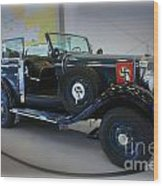 Hitler's 39 Mercedes-benz Wood Print