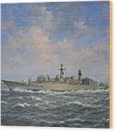 H.m.s. Chatham Type 22 - Batch 3 Wood Print