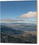 Hobart Tasmania Mount Wellington Wood Print