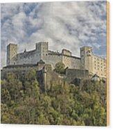 Hohensalzburg Castle Wood Print