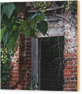 Hole In The Wall2 Wood Print