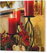 Holiday Candles Hcp Wood Print