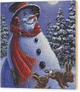 Holiday Magic Wood Print