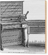 Hollerith Tabulator, 1890 Wood Print
