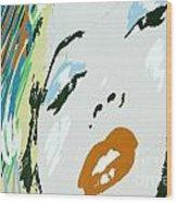 Marilyn In Hollywood 3 Wood Print