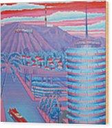 Hollywood Usa Wood Print