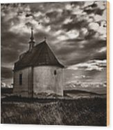 Holy Cross Chapel Wood Print