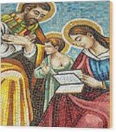 Holy Family At Catholic Church Wood Print