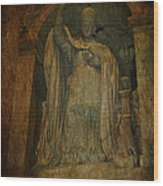 Holy Glory Wood Print by Lee Dos Santos