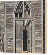 Holy Haven For Cats Wood Print