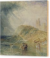 Holy Island - Northumberland Wood Print