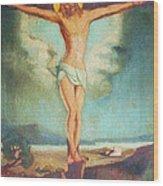 Holy Sacrifice Wood Print
