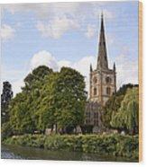 Holy Trinity Church Wood Print by Jane Rix
