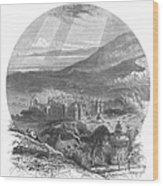 Holyrood Palace Wood Print