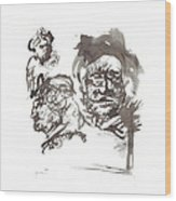 Homage To Rembrandt Wood Print