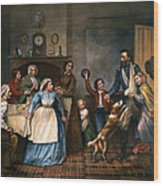 Home Again, 1866 Wood Print